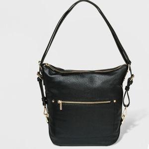 a new day Studded Convertible Hobo Handbag